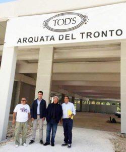 Terremoto: Della Valle, fabbrica Tod's Arquata apre dicembre