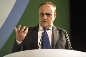 The mininster Alberto Bonisoli